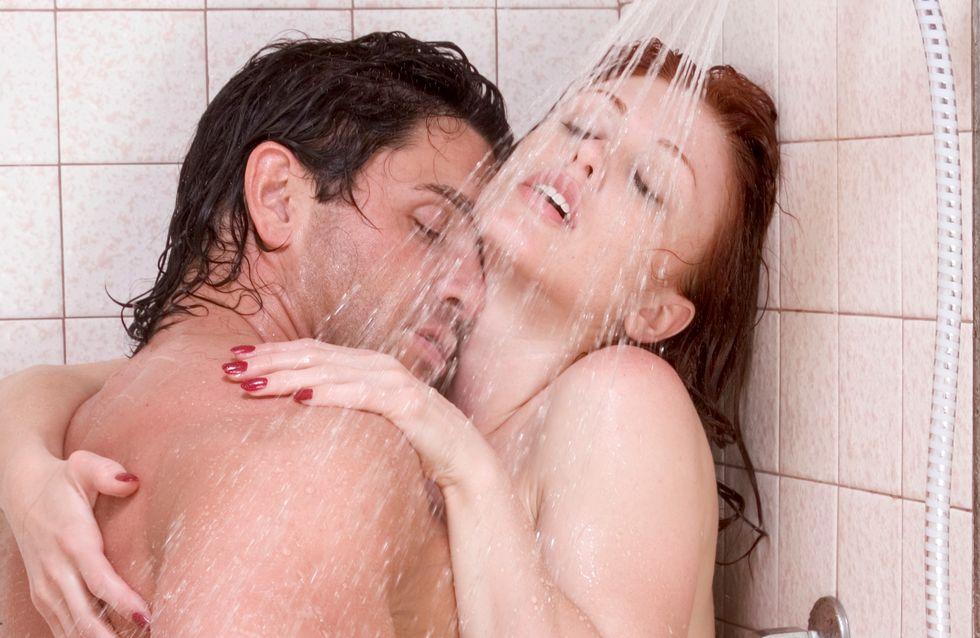 10 positions pour faire l'amour sous la douche