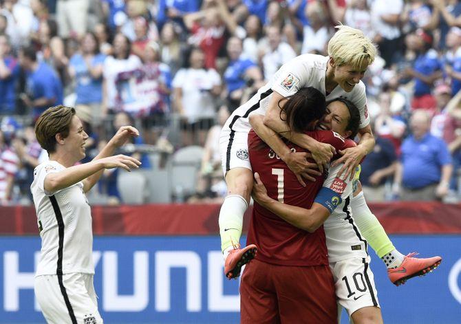 Les footballeuses américaines.