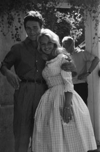 Brigitte Bardot y Jacques Charrier