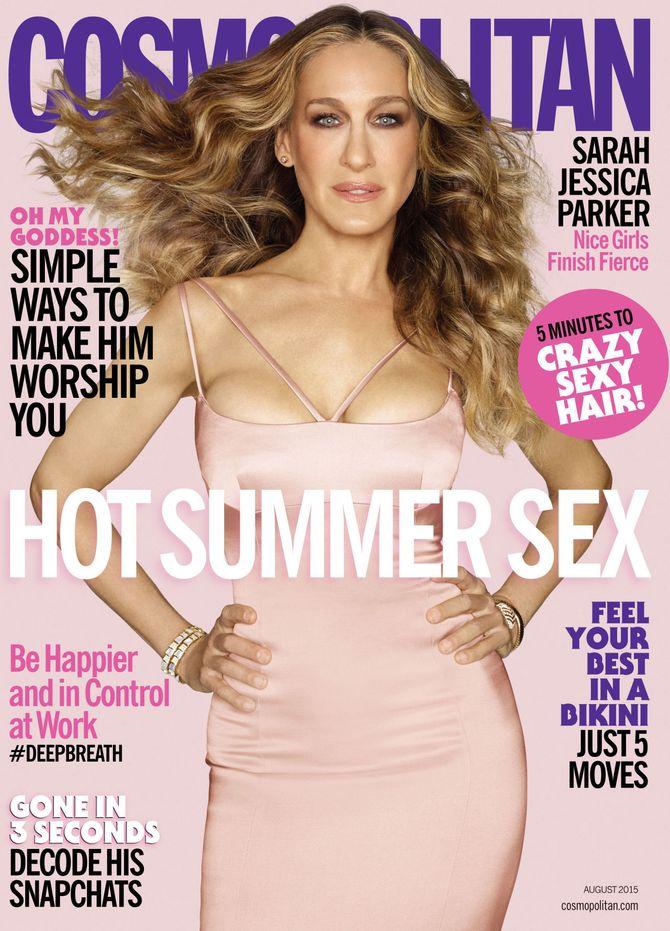 Jessica Parker pour Cosmopolitan.