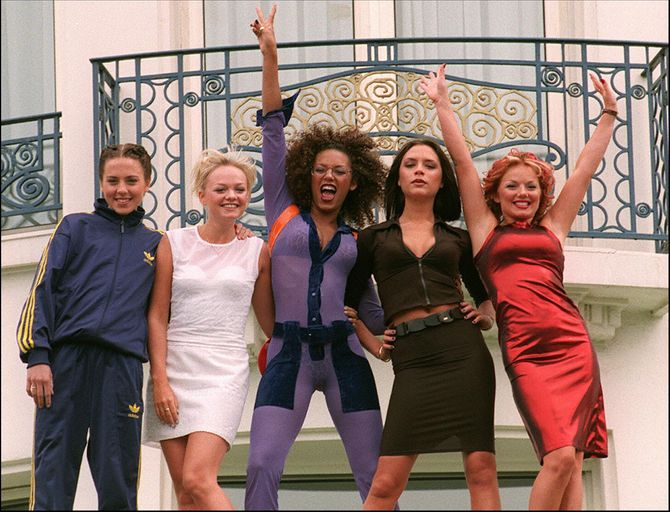 Les Spice Girls en 1997
