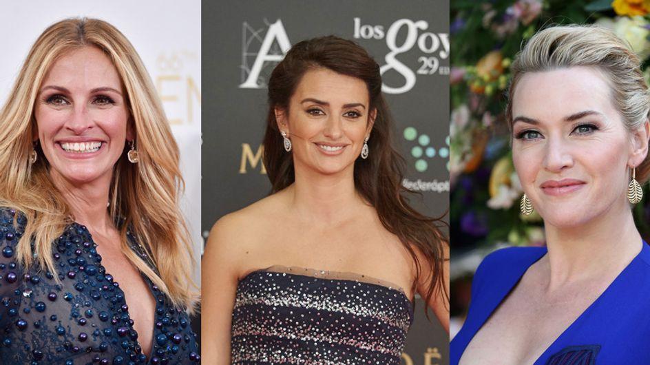 Penélope Cruz, Kate Winslet, Julia Roberts, égéries black pour Lancôme (Photos)