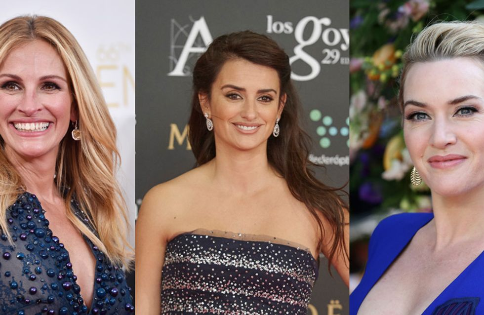 Penélope Cruz, Kate Winslet, Julia Roberts, égéries black pour Lancôme (Photos)