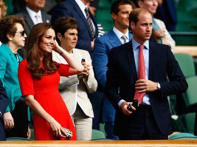 Kate et William à Wimbledon