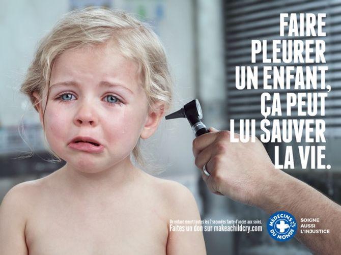 #MakeAChildCry, campagne de sensibilisation pour la vaccination des enfants