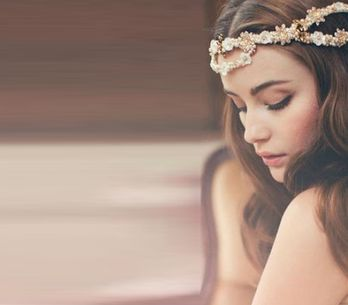 10 jolies manières de porter votre voile de mariée