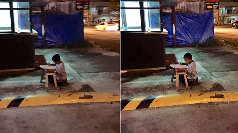 Das traurige Foto dieses obdachlosen Jungen verhalf ihm zu einem besseren Leben