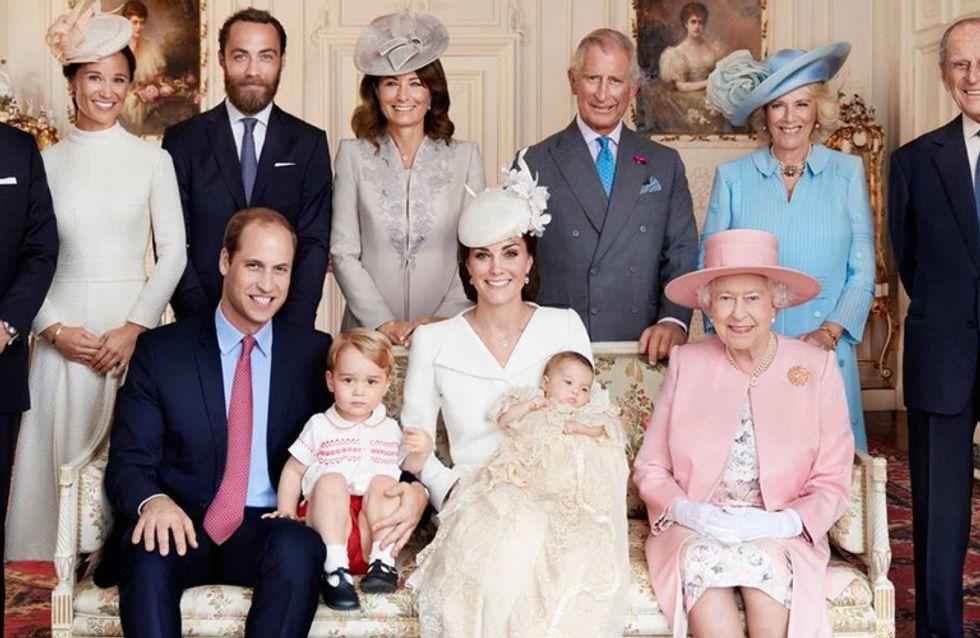 Ritratto di famiglia per i Windsor: le foto ufficiali del battesimo della piccola Charlotte!