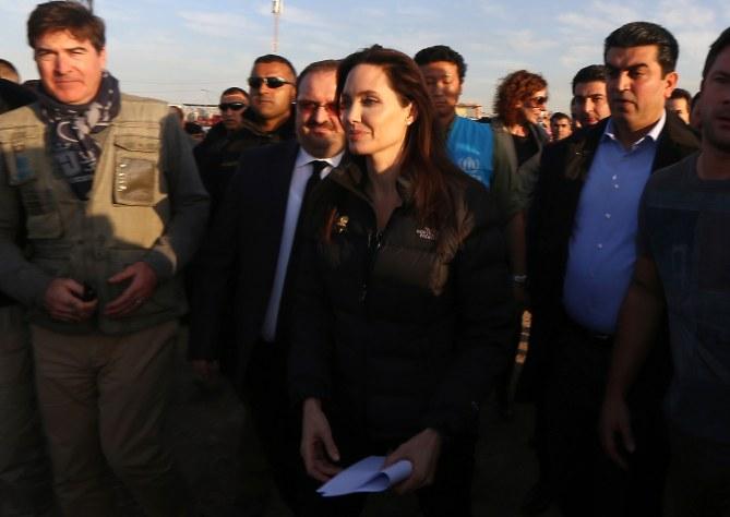 Angelina Jolie en Turquie.