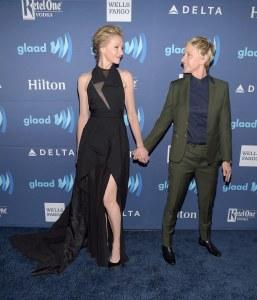 Ellen DeGeneres et Portia de Rossi