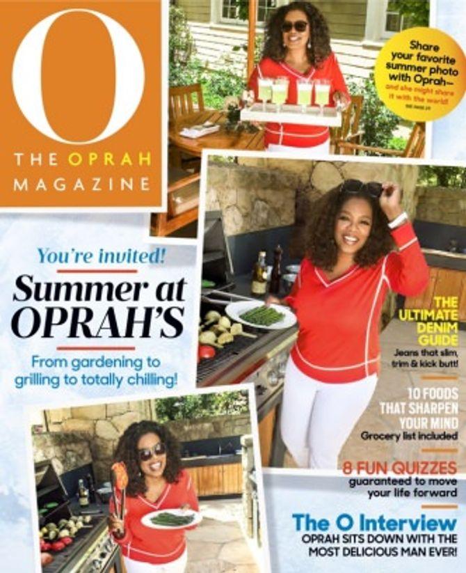 La couverture du dernier O Magazine