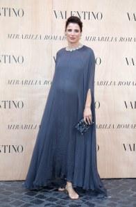 Luisa Ranieri con il pancione