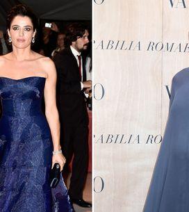 Luisa, che pancia! Le foto della Ranieri sul red carpet all'8° mese di gravidanz
