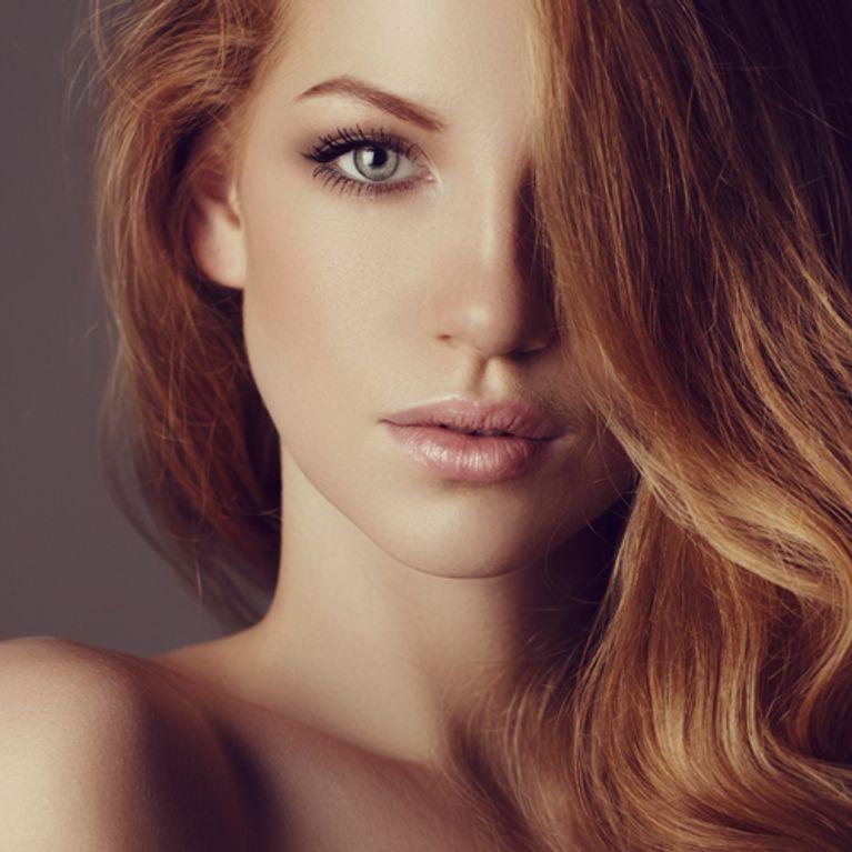 Mädchen Tumblr Braune Haare Attraktive Rote Ombre 2019
