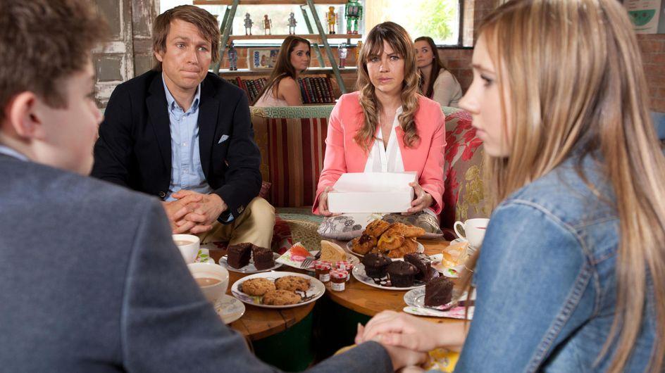 Hollyoaks 22/07 - Peri and Tom soften when they hear Angela's story