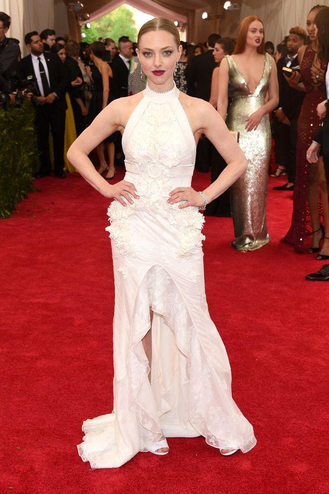 Amanda Seyfried au Met Ball.