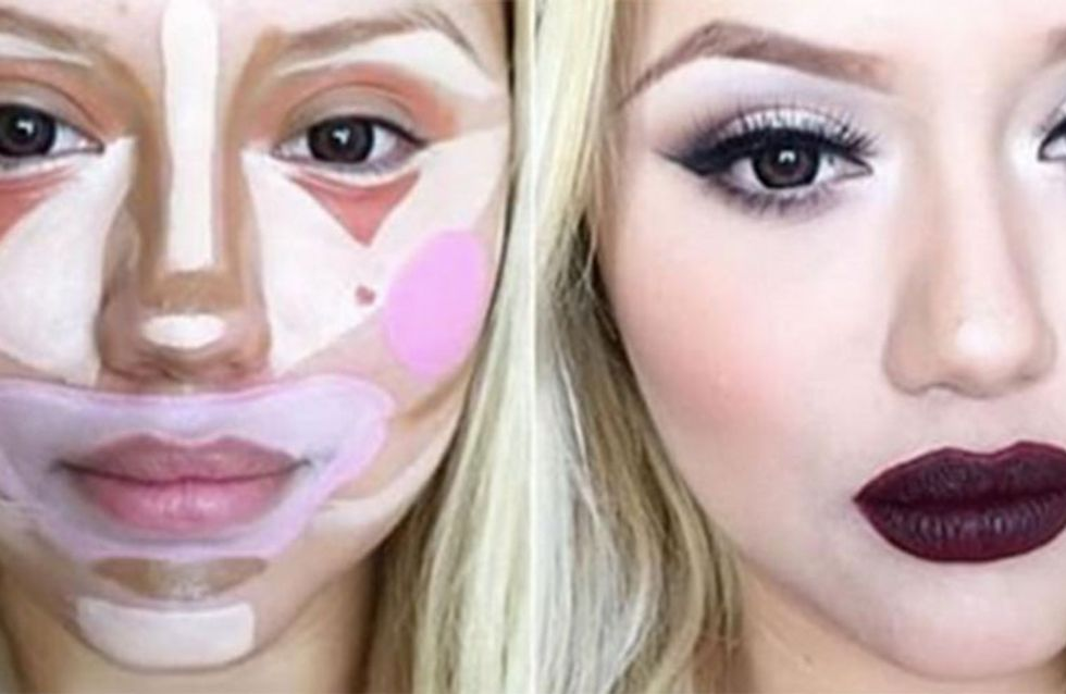 Clowns, Skulls & Star Wars! The Craziest Ways To Contour Your Face
