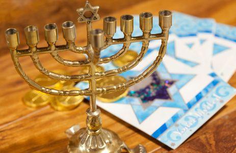 La menorá, símbolo del judaísmo