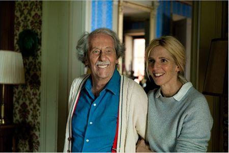 Jean Rochefort et Sandrine Kiberlain