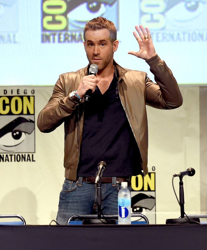 Ryan Reynolds au Comic Con.