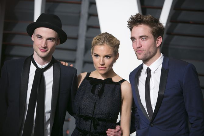Sienna Miller, Tom Sturridge et Robert Pattinson