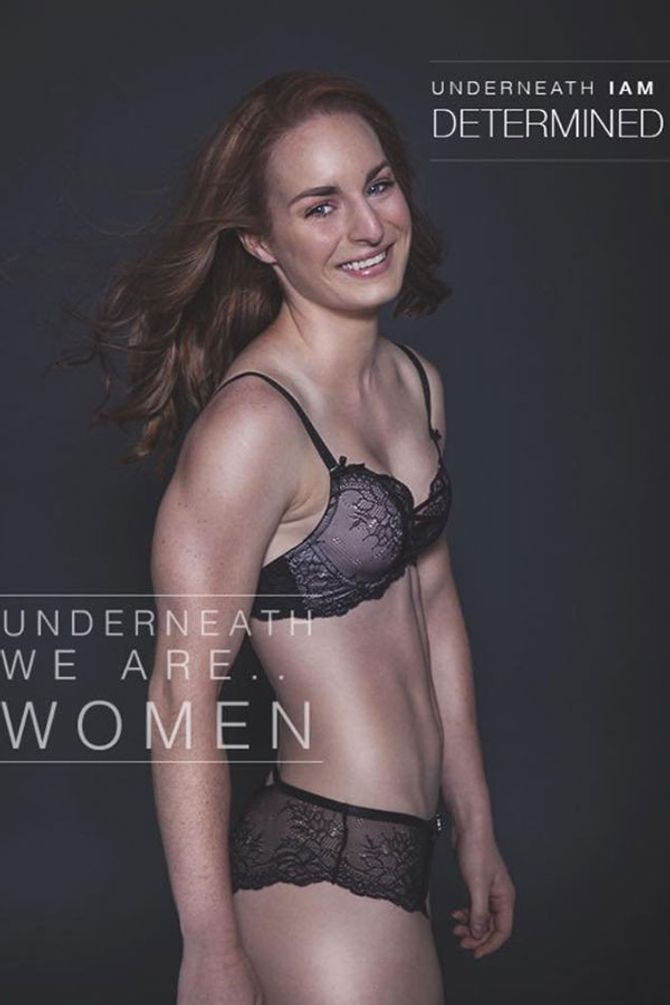 Underneath We Are Women Body Confidence Campaign