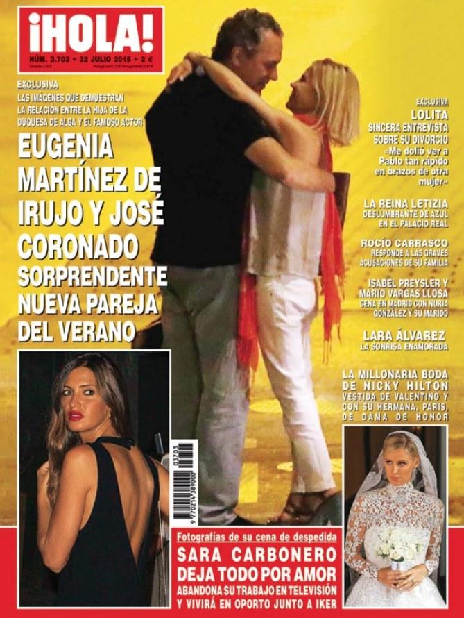José Coronado y Eugenia Martínez de Irujo