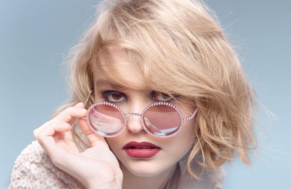 Lily-Rose Depp, ambassadrice de charme pour Chanel (Photos et vidéo)
