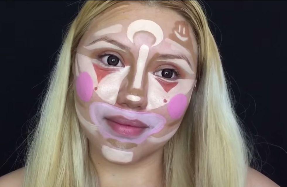 [Vídeo] Clown countouring, diviértete mientras te maquillas