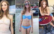Chiara Ferragni, taglia 38 a tutti i costi. Le foto della fashion blogger sempre