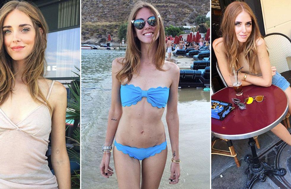 Chiara Ferragni, taglia 38 a tutti i costi. Le foto della fashion blogger sempre più magra