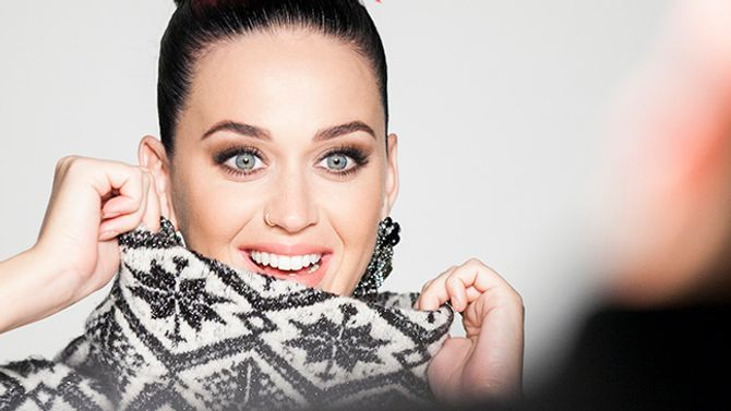Katy Perry pour H&M.