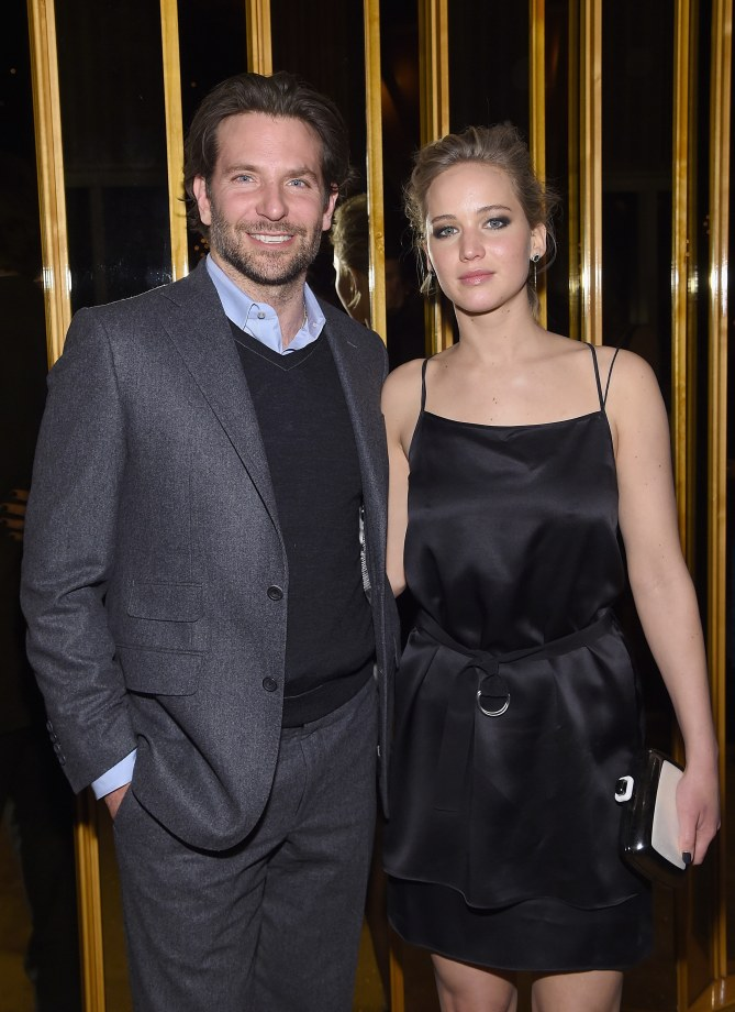 Jennifer Lawrence et Bradley Cooper