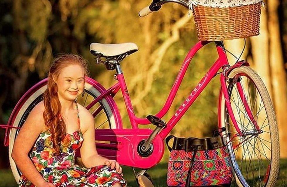 Le jeune mannequin trisomique Madeline Stuart a signé ses premiers contrats