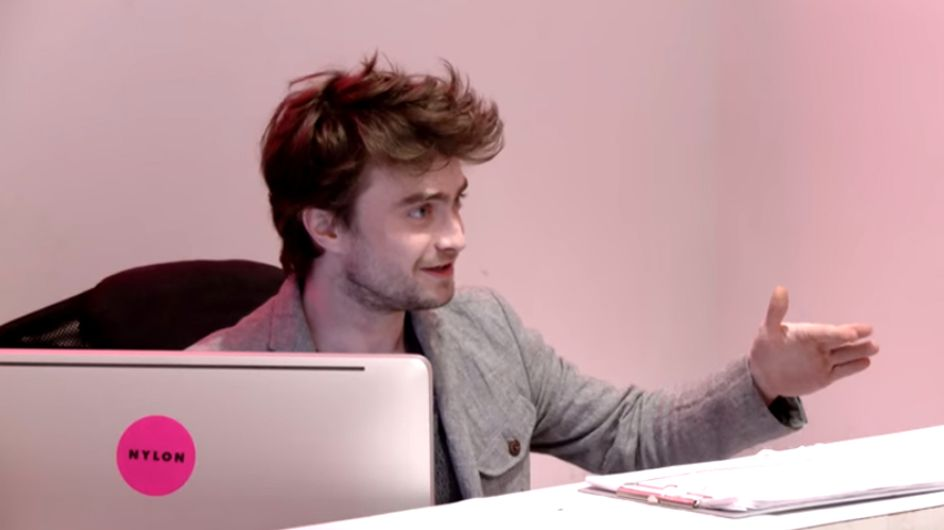 Daniel Radcliffe Became A Receptionist For An Hour And Was Absolutely Terrible