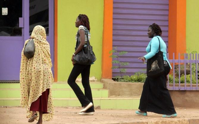 Femmes soudanaises en pantalon