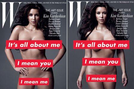 Kim Kardashian en couverture de W Magazine