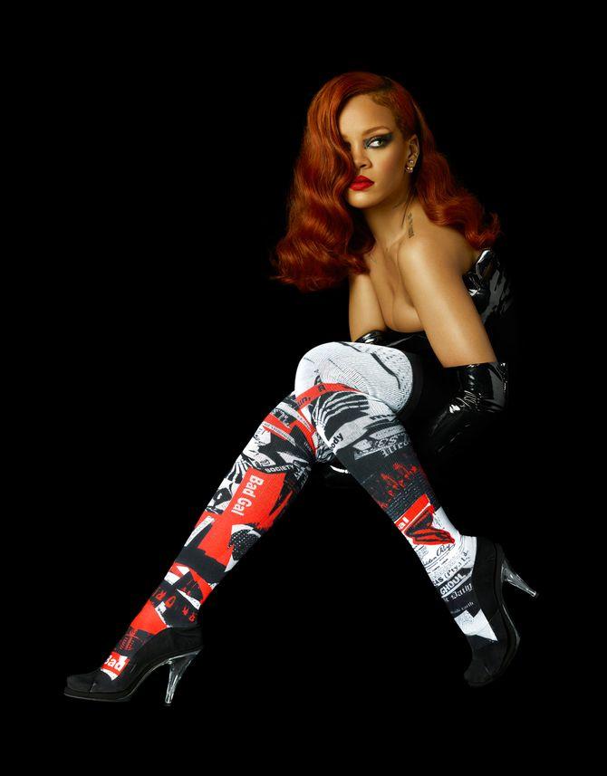 Rihanna pour Stance.