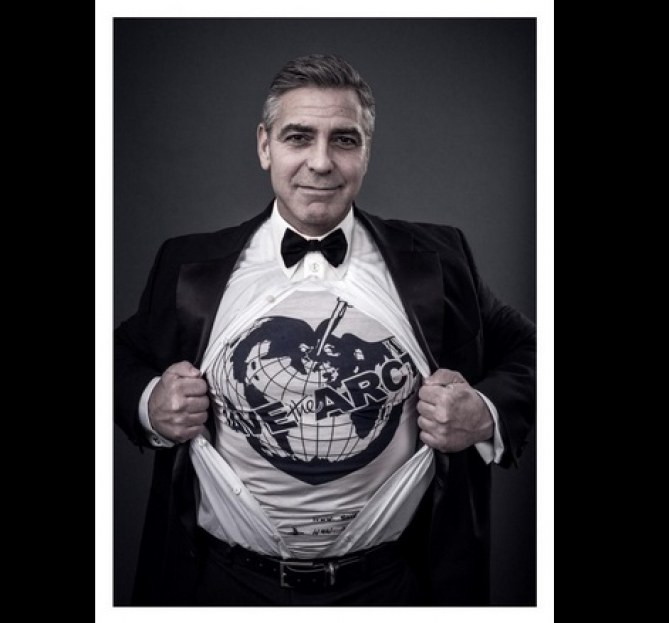 George Clooney pour la campagne SaveTheArtic