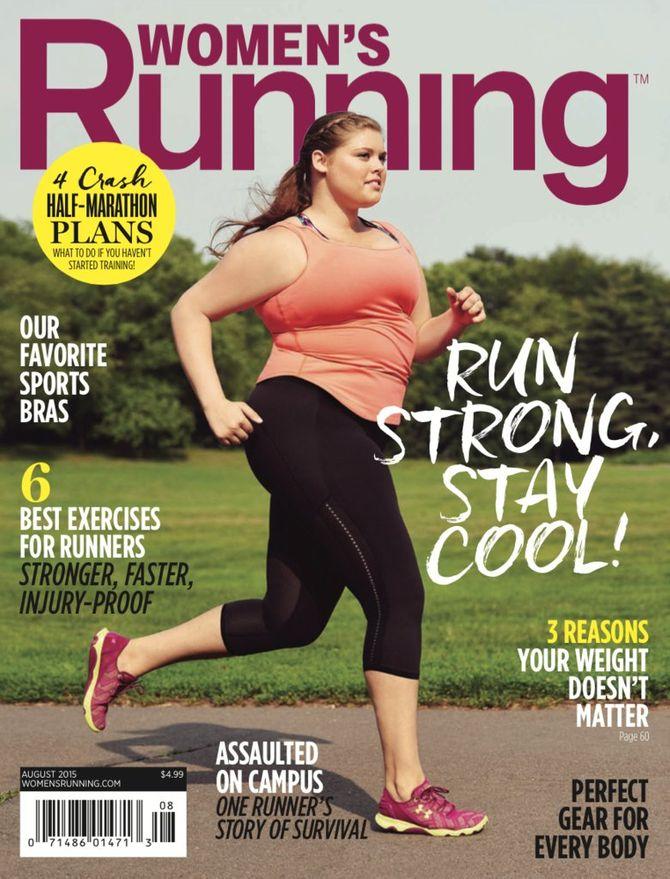 Erica Schenk pour le Women's Running.
