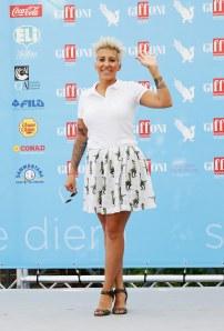 Alcune foto di Malika Ayane al Giffoni Film Festival
