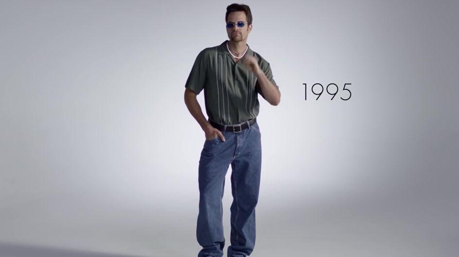 Video/ 100 anni di moda e bellezza maschile in 2 minuti... e tu che versione preferisci? Anni '30 o seventies?