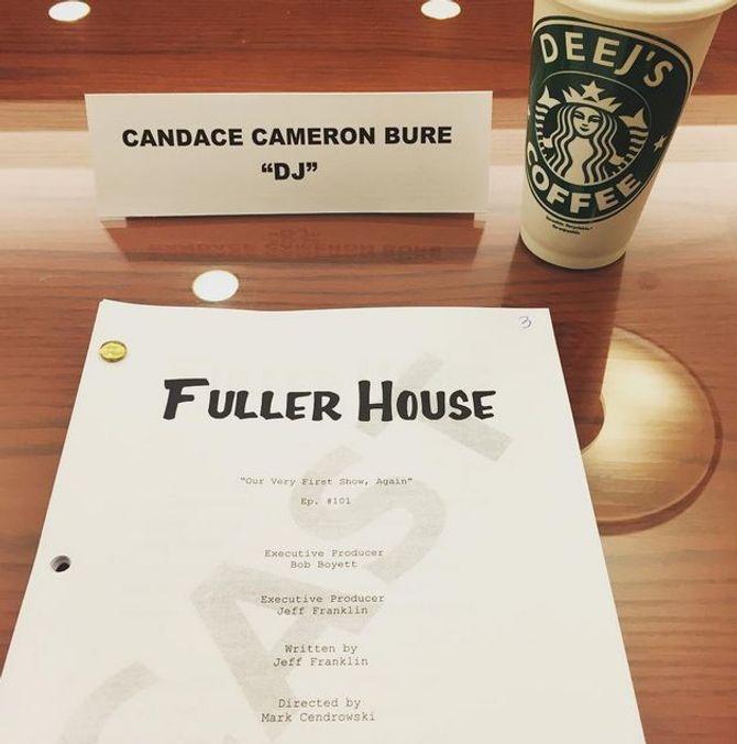 Le script de Candace Cameron Bure, alias DJ Tanner