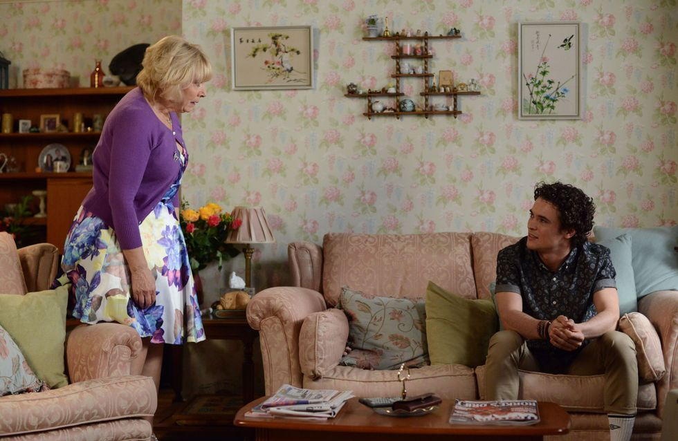 Eastenders 31/07 - Pam reels from Paul's bombshell