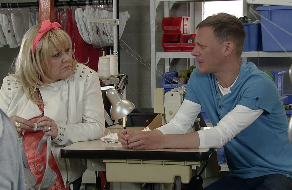 Coronation Street 31/07 - Roy and Cathy are the picture of friendship