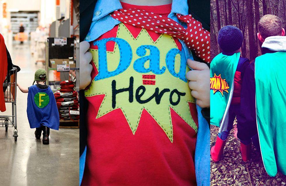 11 indícios de que o seu pai é um super-herói disfarçado
