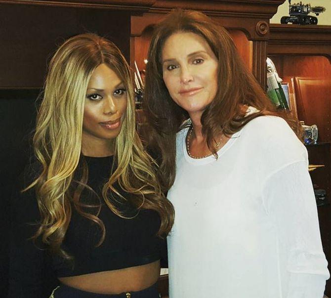 Laverne Cox et Caitlyn Jenner