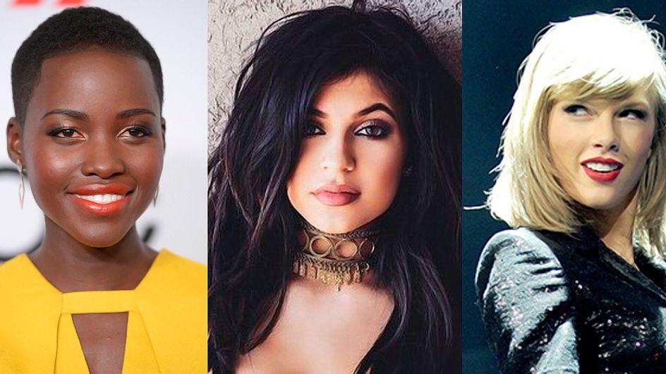 Os batons mais-mais de 10 celebridades (e suas versões baratex)