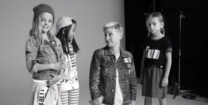 Ellen DeGeneres pour Gap
