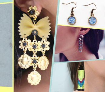 DIY-Schmuck: Ohrringe selber machen aus Nudeln, Haarnadeln & Co.